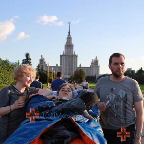 Экскурсия для Кирилла и его родителей