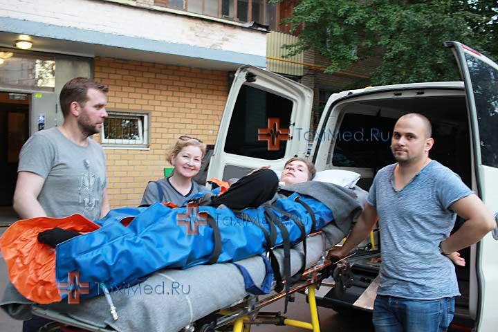 Кирилл после экскурсии по Москве